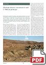 Ekologie obnovy narušených míst [Restoration Ecology of Disturbed Sites]