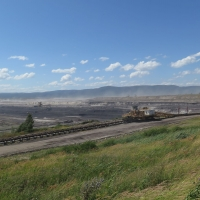 Surface quarry for brown coal mining - Vršany
